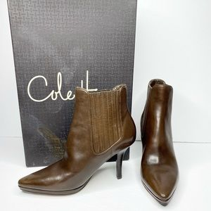 Cole Haan 'Tasha' Smooth Leather Ankle Booties